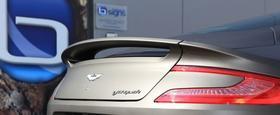 Fahrzeugfolierung Aston Martin Vanquish in matt black BREMEN